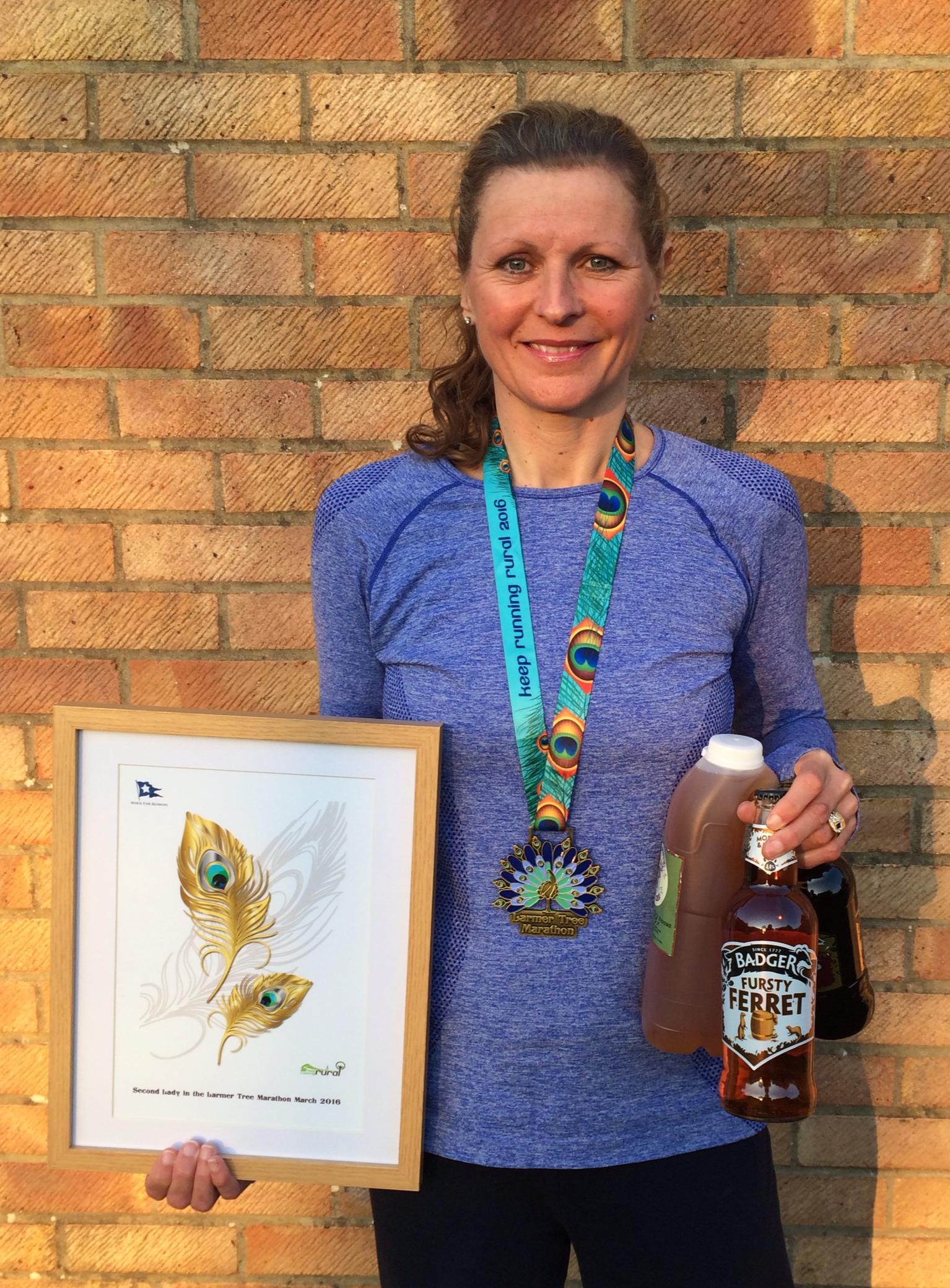 Tamatha Ryan - Larmer Tree Marathon - 2016
