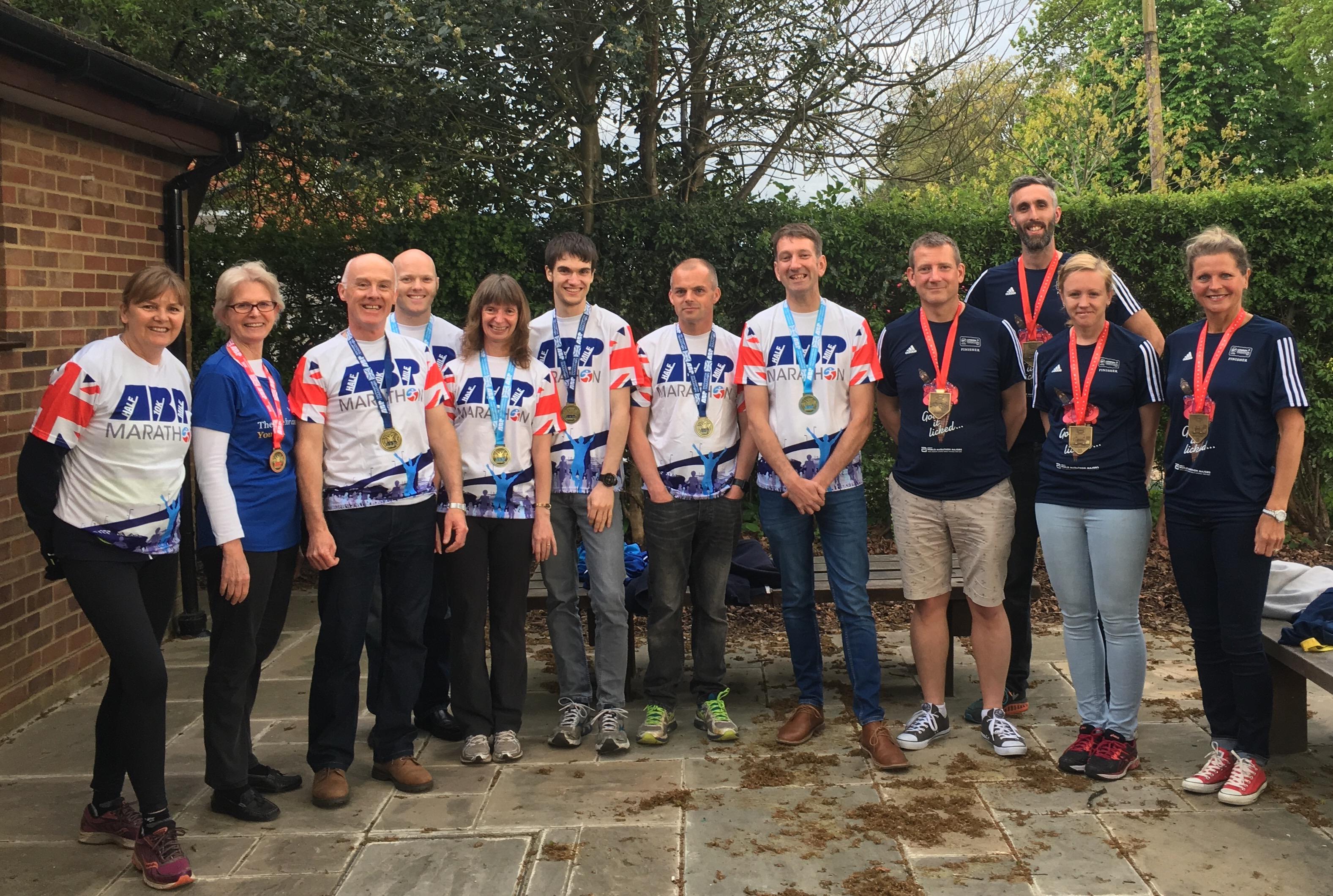 RRR Southampton and London Finishers - 2017